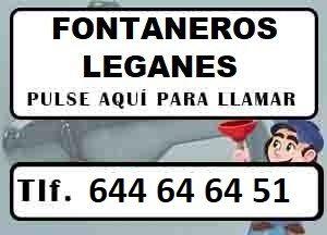 Fontaneros Leganes Madrid Urgentes
