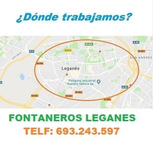 ¿ en que zonas de Leganes trabajamos ?