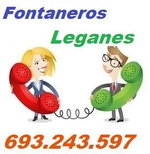 Telefono de la empresa fontaneros Leganes