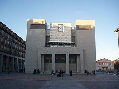 Ayuntamiento en la localidad de Leganés